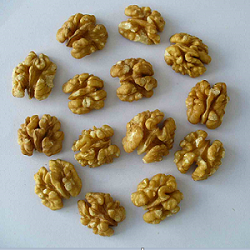 Original raw walnut kernel